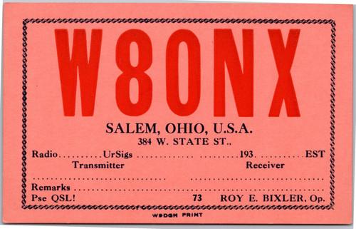 W80NX Salem Ohio - Bixler