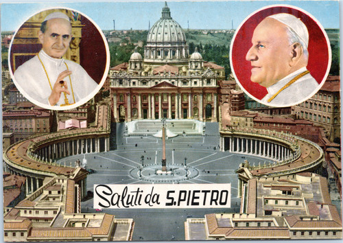 Pope Paul,Pope John