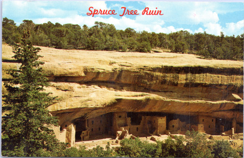 Spruce Tree Ruin Mesa Verde