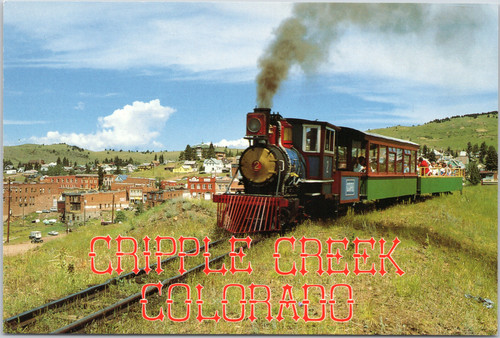 Cripple Creek Train