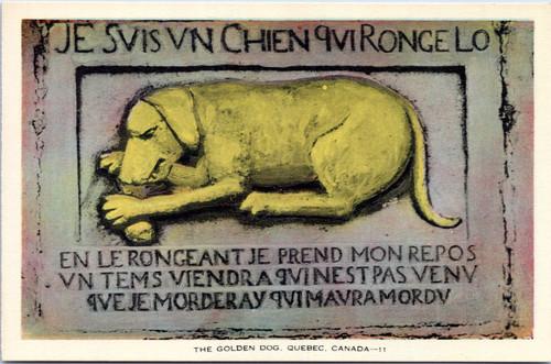 Quebec Golden Dog