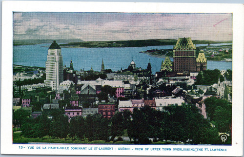 Quebec overlooking St. Lawrence