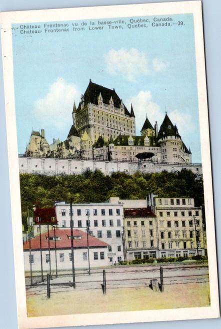 Quebec Chateau Frontenac