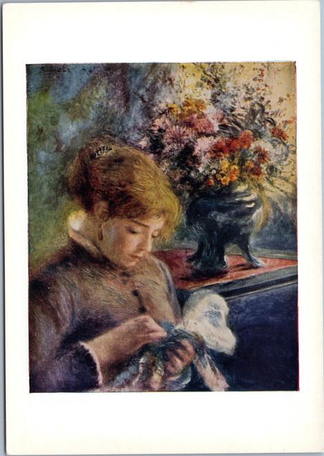 Renoir - Lady Sewing