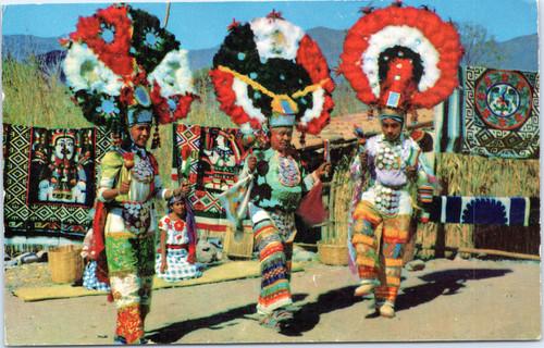 Oaxaca Indian Feather Dancers