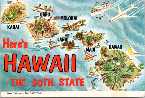 Hawaii cartograph