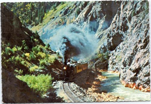 Train Animas Canyon