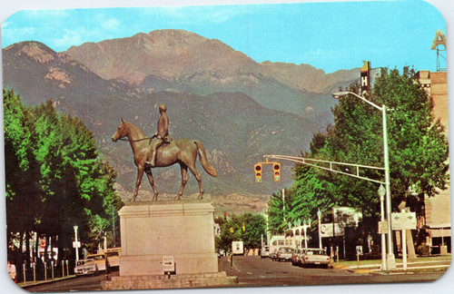 Colorado Springs statue
