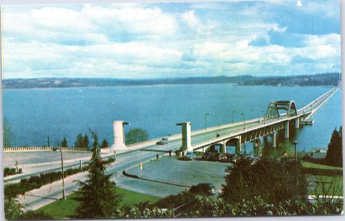 Seattle lake washington bridge