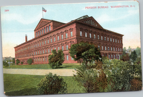 Pension Bureau, Washington D. C.