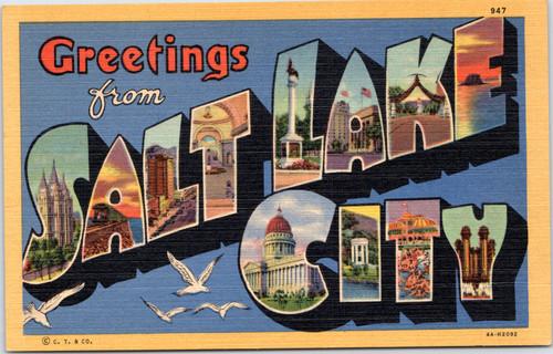 Salt Lake City large letter