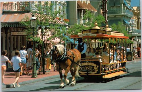 Disney World - Trolley ride