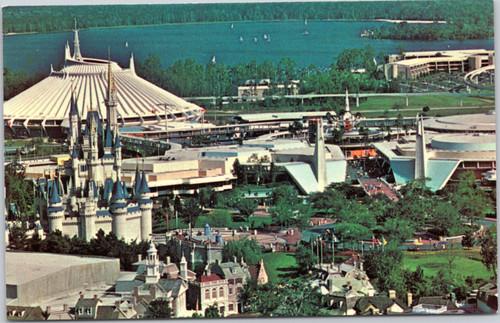 Disney World - Magic Kingdom aerial