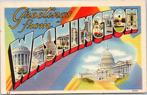 Greetings from Washington  (District of Columbia)