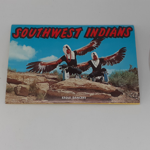 Southwest Indians fold-out postcard
