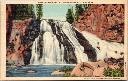 Gibbon Falls Yellowstone Park