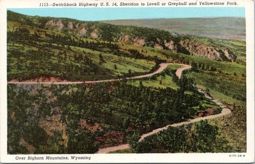 Switchback Highway US 14