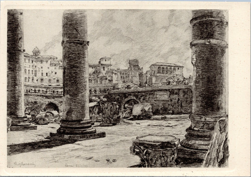 The Columns of the Trajan Forum by A. Baracchi