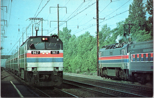 Amtrak NJ and EP60
