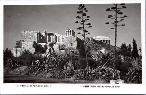 Greece Athens view of Acropolis