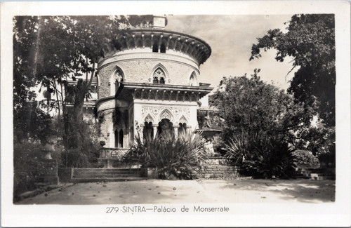 Monserrate Palace Portugal