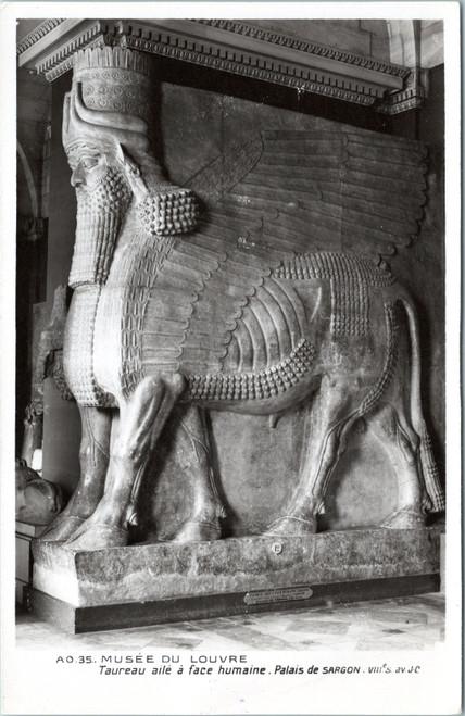 Human-headed winged bull Sargon palace