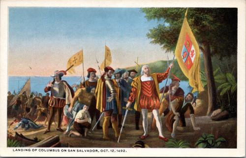 Landing of Columbus on San Salvador