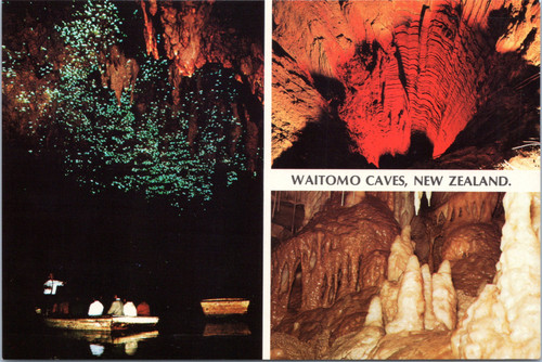 Waitomo Caves New Zealand