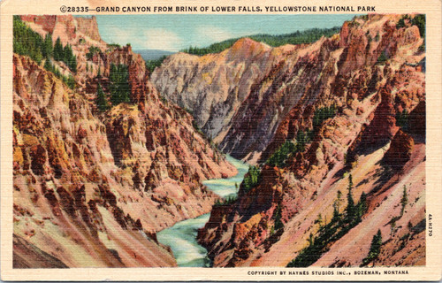 Yellowstone Park Grand Canyon
