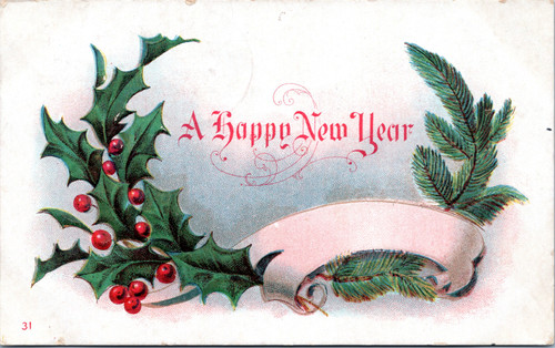 A Happy New Year (26-15-733)