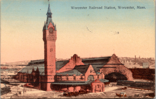 Worcester Railroad Station MA