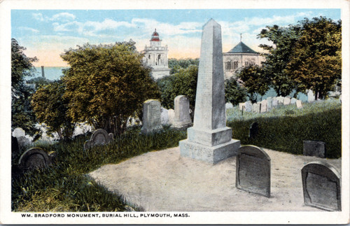 Burial Hill, Plymouth Mass