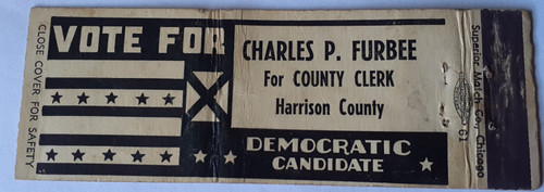 Vote for Charles P. Furbee
