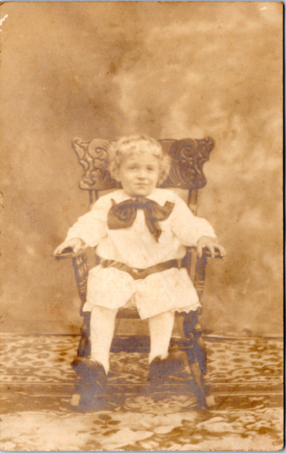 Toddler in Chair