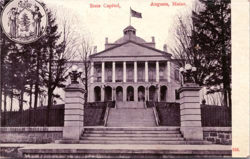 Maine State Capitol Augusta