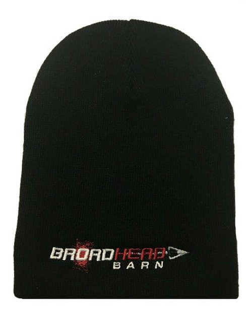 Beanie Broadhead Barn Red/White Logo