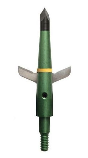 """Swhacker 2 Blade 100 Grn 2""""Cut 3 Pack W/ Practice Head"""