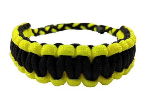 ParaTexas Flo Yellow/ Black Deluxe Wrist Sling