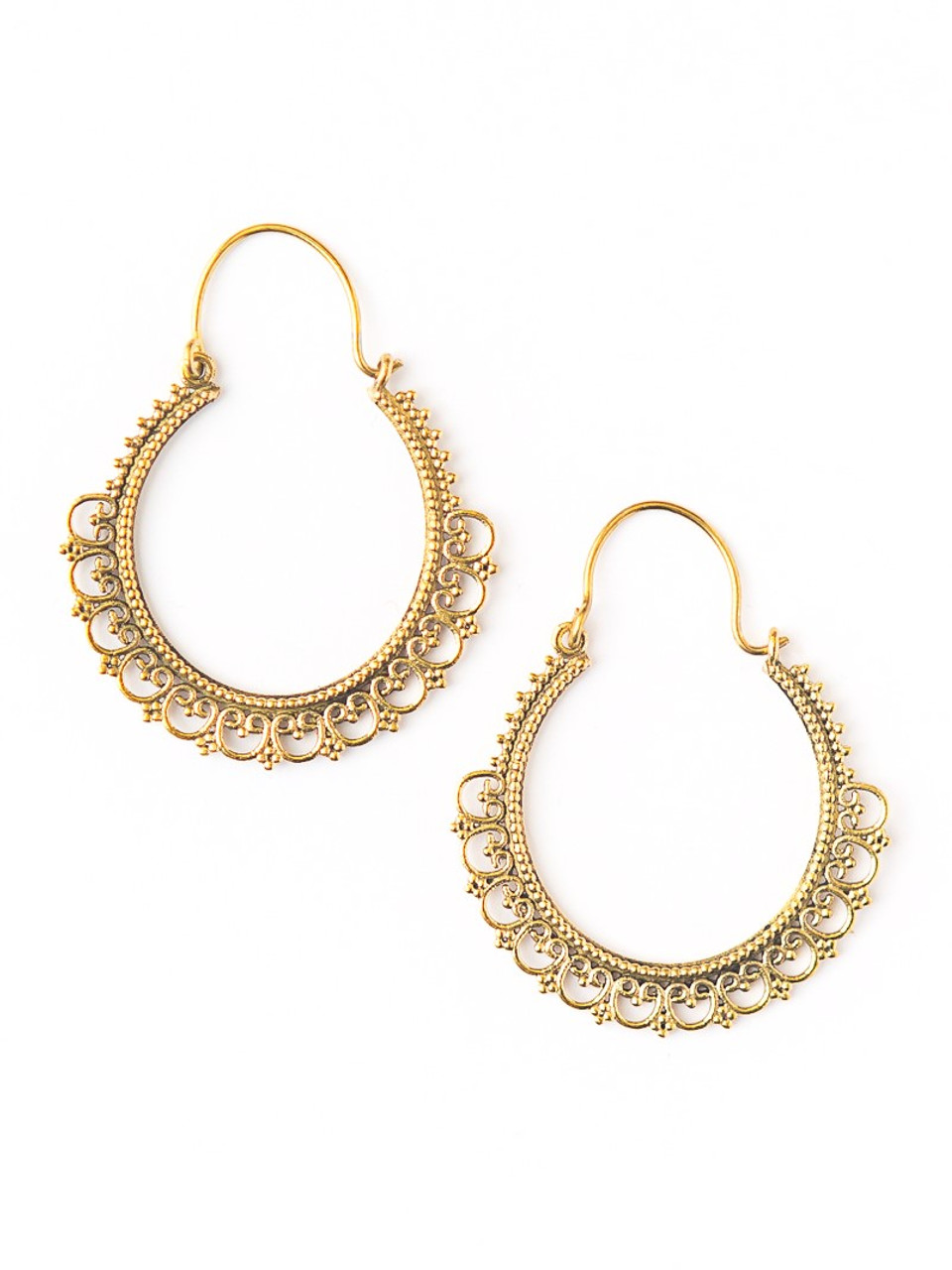Details about  /Double Spiral Earrings