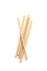 Sustainable Bamboo Straw Set, set of 5 with cleaner and carrying case | Fair Anita