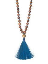 Wooden Warrior Tassel Necklace