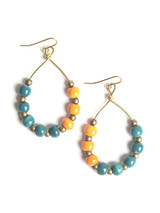 Color Pop Ceramic Earrings