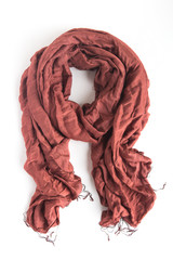 burgundy fair trade scarf | Fair Anita