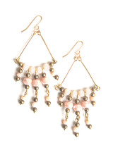 Jungle Orchid Glass Earrings