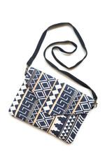 Navy envelope cross body purse_Fair Anita