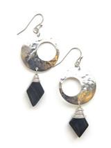 Jupiter Stone Earrings - Silver