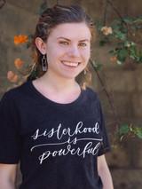 sisterhood is powerful feminist tshirt | Fair Anita