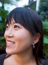 Small Black Drop Earrings   Fair Anita