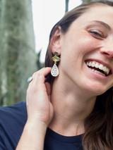 large bone stud drop earring | Fair Anita