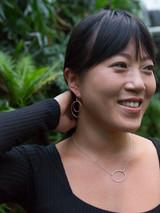 Lightweight double oval sterling earrings   Fair Anita